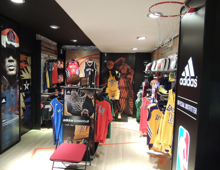 Basket Revolution Area Adidas 2