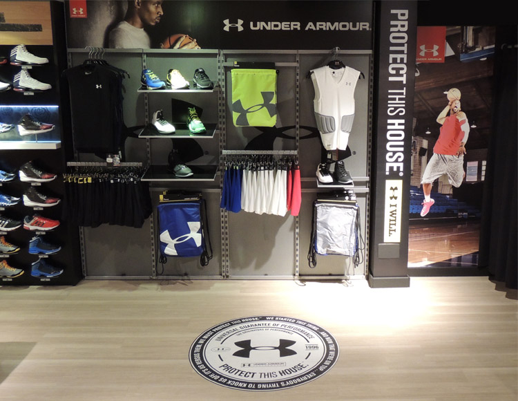 Basket Revolution Area Under Armour 1