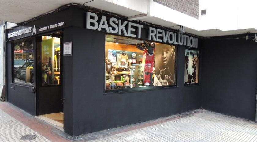 Basket Revolution Fachada