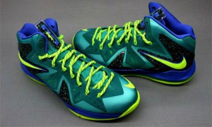 Nike Lebron X P.S. ELITE Sport Turquese 579827-300 (1)