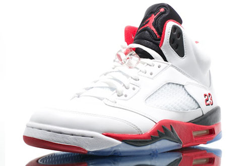 Air Jordan 5 Retro Fire Red(2)