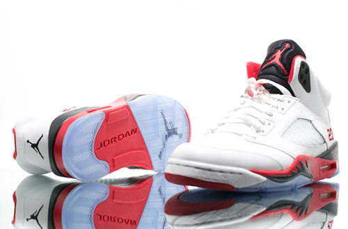 Air Jordan 5 Retro Fire Red(4)
