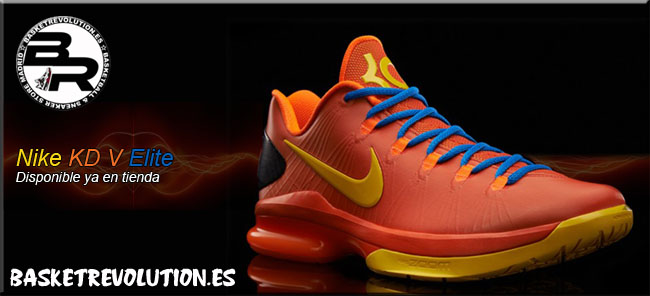 Nike KD V Elite Team Orange
