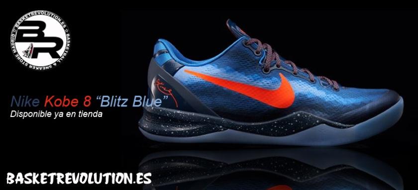 Banner Nike Kobe 8 Blitz Blue