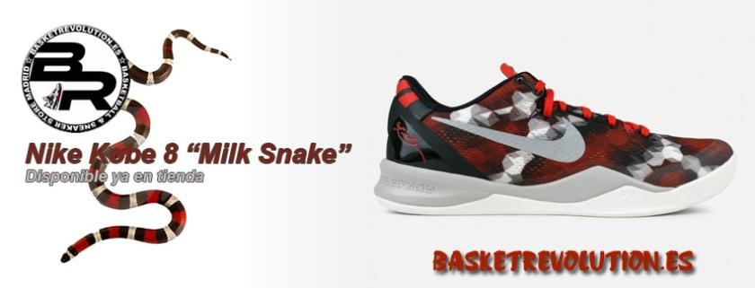 Banner Nike Kobe 8 Milk Snake