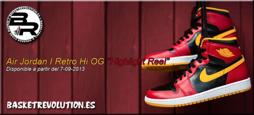 Air Jordan 1 Retro Hi OG Highlight Reel