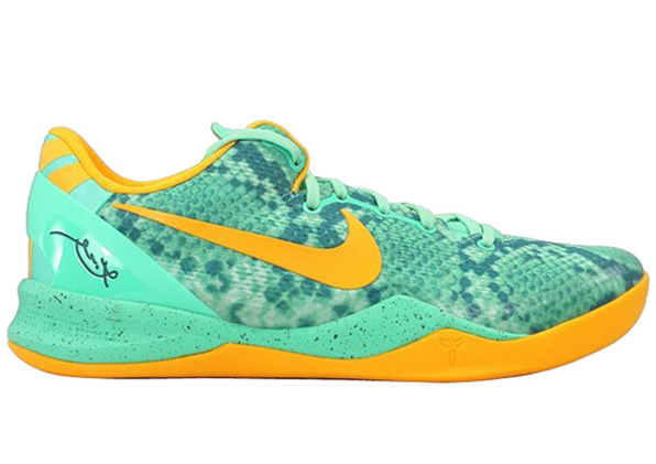 Nike Kobe 8 Green Glow 1