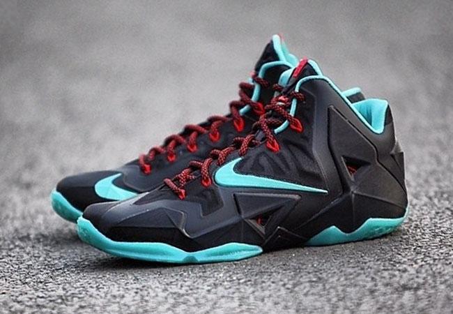 Nike Lebron 11 Black Diffused 1