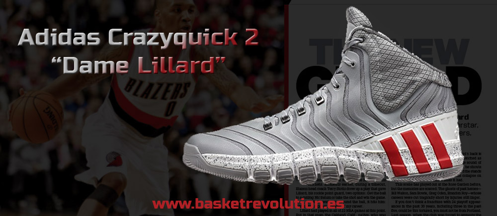 "quality design 09ab9 06c00 Adidas Adipure Crazyquick 2 ""Dame Lillard"""