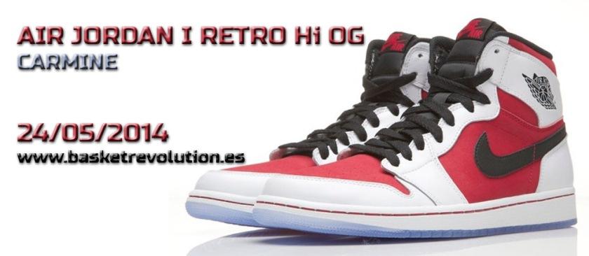 Jordan 1 Carmine