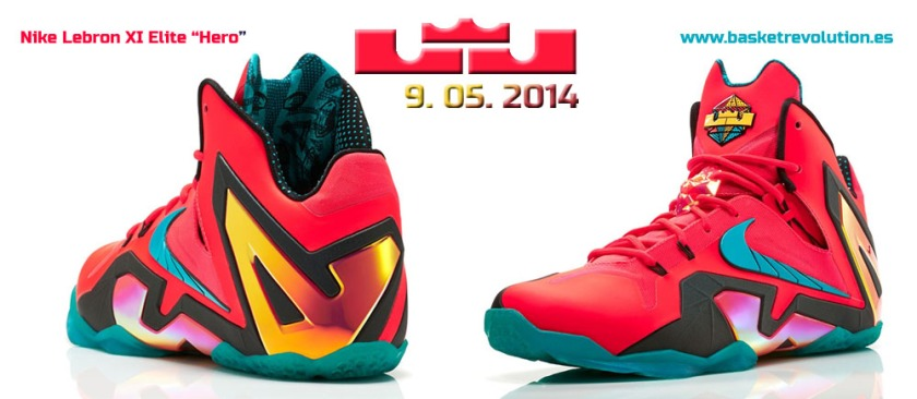 Nike Lebron XI Elite Hero
