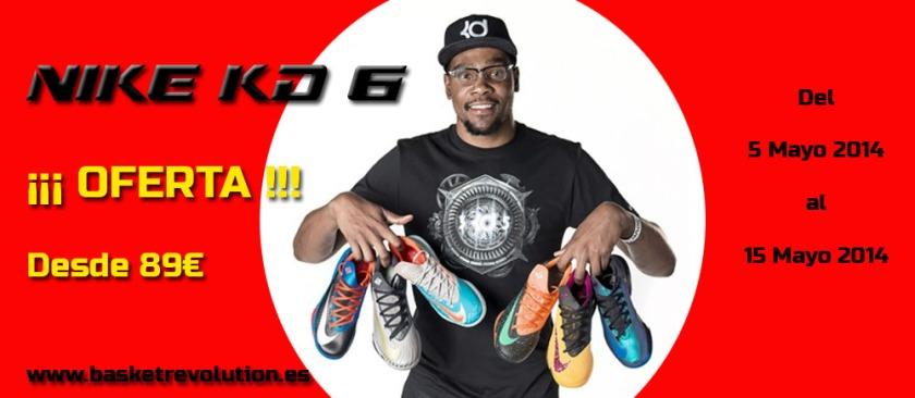 Oferta Nike KD VI