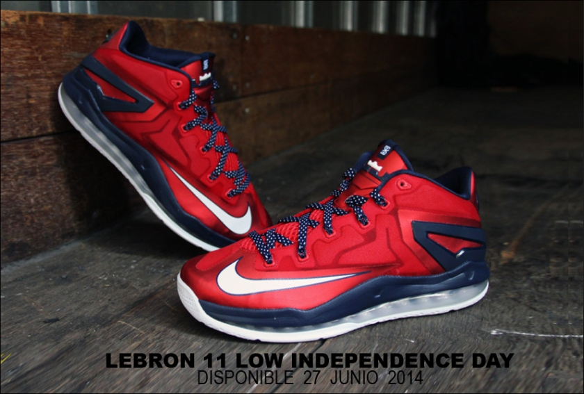 Nike-Lebron-11-Independence-Day-News