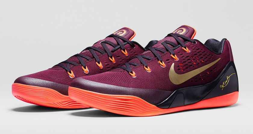 """Nike Kobe 9 """"Deep Garnet"""""""