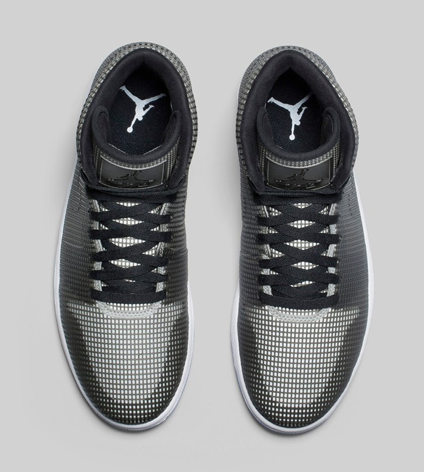 Air Jordan 4Lab1 'Black Reflect Silver'