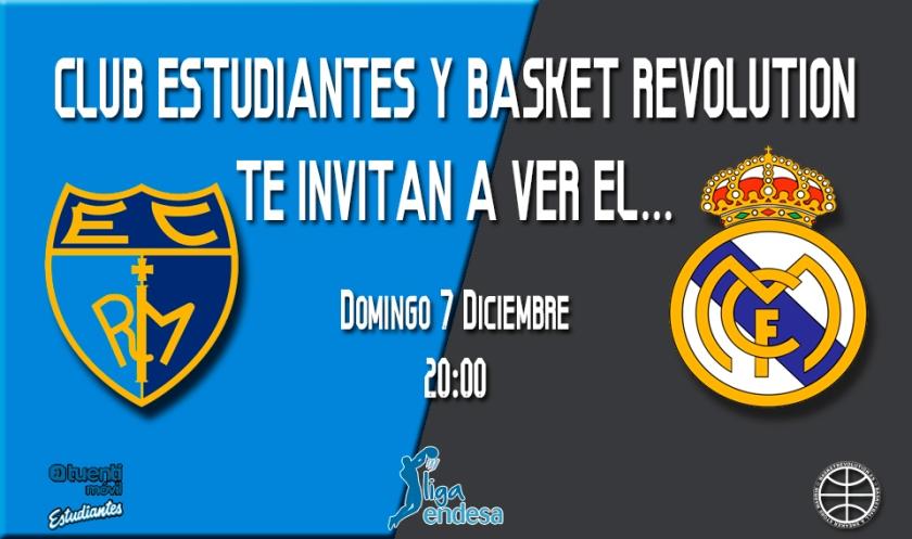 Entradas Club Estudiantes vs Real Madrid