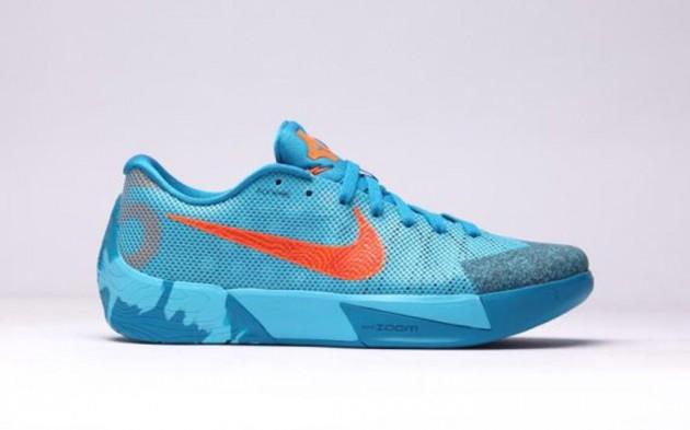 Nike KD Trey II Clearwater/Total Orange