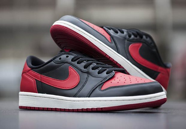 "Air Jordan 1 Retro Low ""OG Bred"""
