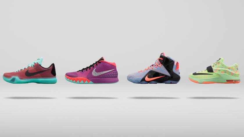 La Colección Easter 2015 de Nike Basketball
