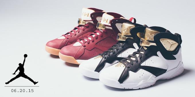 """Air Jordan 7 Retro """"Championship Pack"""""""
