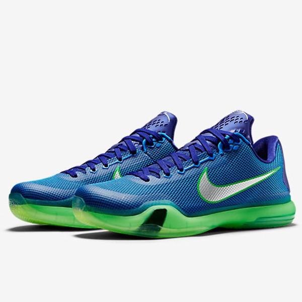 "Nike Kobe X GS ""Emerald City"""