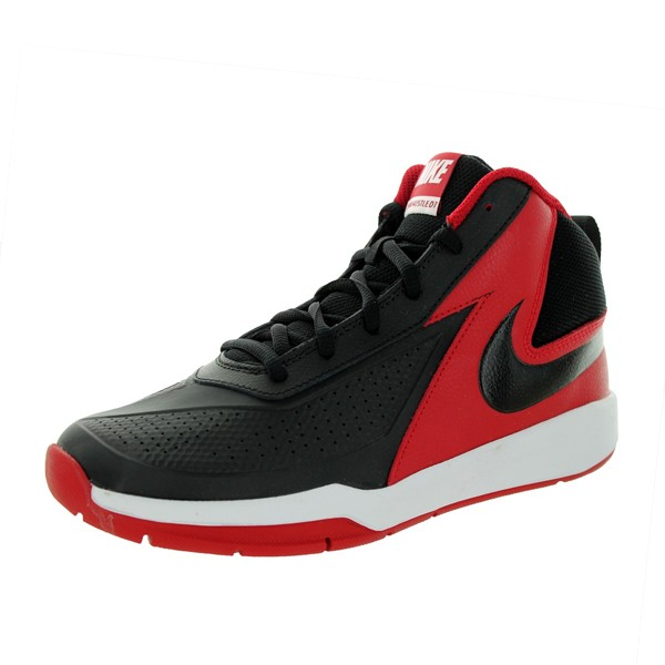 "Nike Team Hustle D7 PS ""Black/Red"""