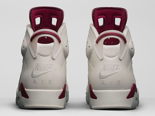 "Air Jordan VI Retro ""Maroon"""