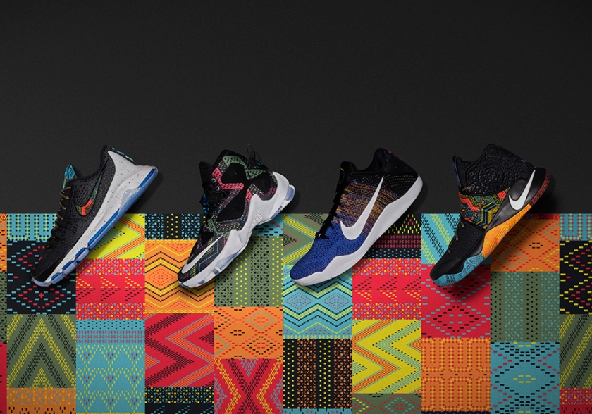 Nike Basketball 2016 BHM Collection