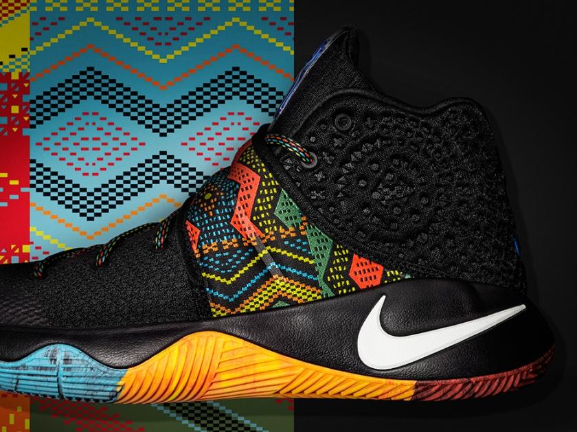 """Nike Kyrie 2 """"BHM"""""""