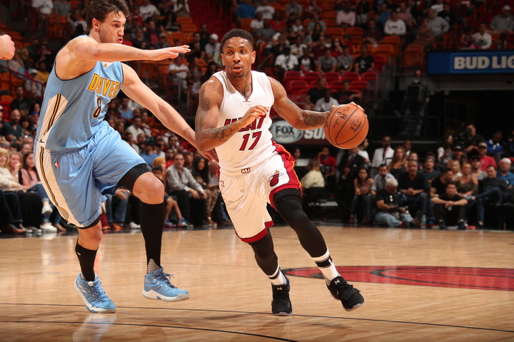 Denver Nuggets v Miami Heat