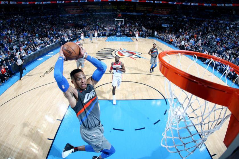Washington Wizards v Oklahoma City Thunder